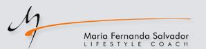 Entrenadora De Vida y Estilo  María Fernanda logotipo