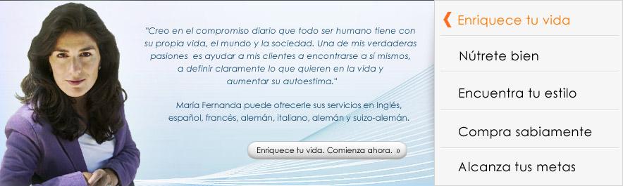 Sobre María Fernanda